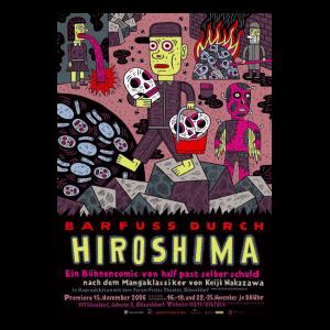 Barfuss durch Hiroshima Plakat DIN A 0