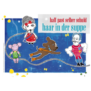 "Kinderbuch ""Haar in der Suppe"" Front Cover"
