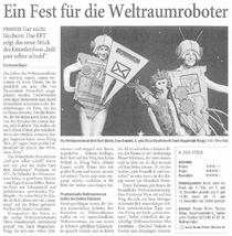 Auf der Suche nach dem Allerbesten_Westdeutsche Zeitung_08.12.2009