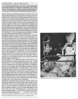 Die Weltmenschen erobern die Welt_Die Kölner Theaterzeitung_Februar 2013
