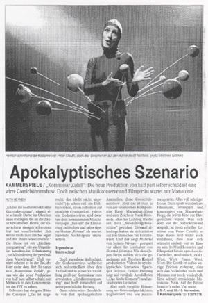 Die Tagebücher von Kommissar Zufall_NRZ_05.11.2004