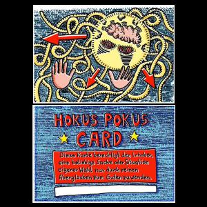 Hokus Pokus Card