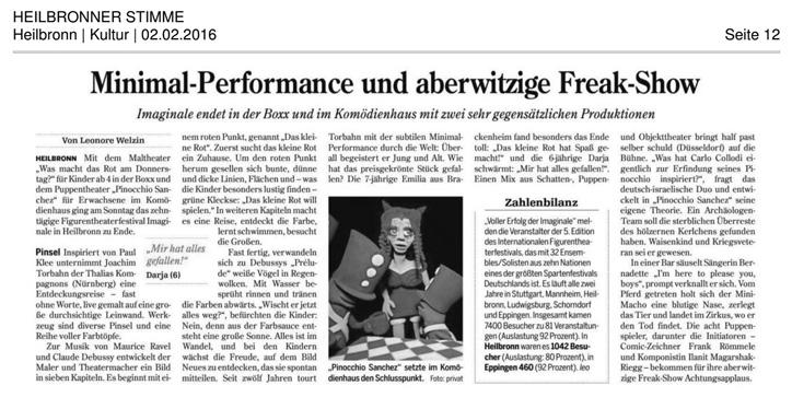 Pinocchio Sanchez_Heilbronner Stimme_02.02.2016